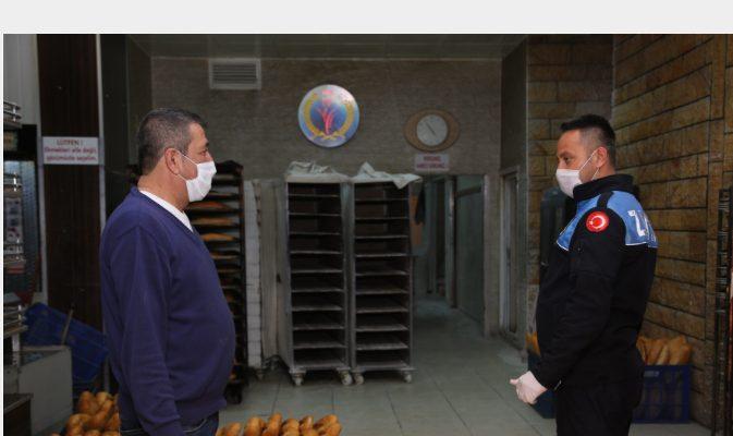 Erdemli Belediyesi'nden Fırınlara Denetim
