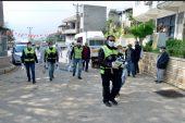 Yenişehir'deki kırsal mahallelere hijyen paketi