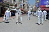 Yenişehir'de esnafa hijyen paketi dağıtıldı