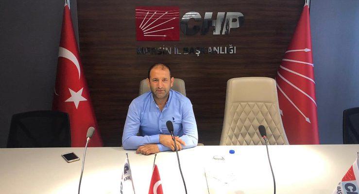 """CHP AKDENİZ MECLİS ÜYESİ AYDIN DEMİRCİ """" TEHLİKE ÇOK BÜYÜK"""""""