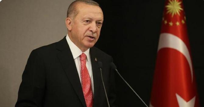"""Cumhurbaşkanı Erdoğan: """"Bu dönem eğitim öğretim yılı sona erdi. Yeni eğitim öğretim yılı önümüzdeki Eylül ayında başlayacak"""""""