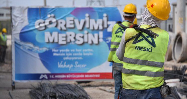 MESKİ, KARACAİLYAS MAHALLESİ'NİN YAĞMURSUYU ÇİLESİNE SON VERİYOR
