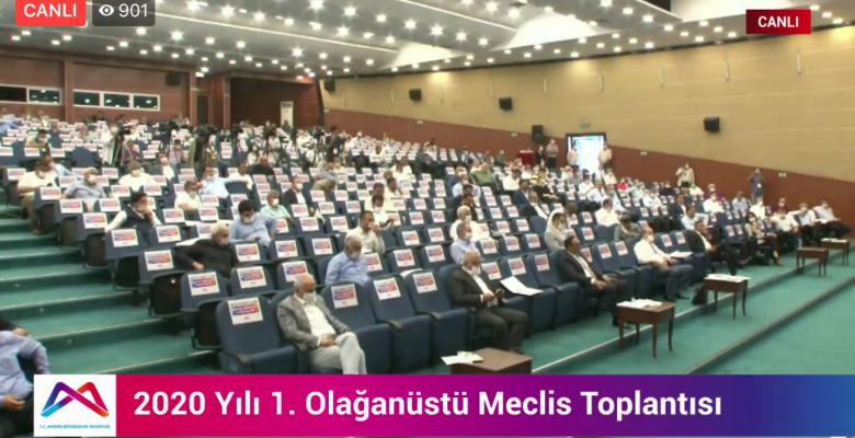 MBB MECLİSİNDE BAŞKAN SEÇER'İN TEKLİFİ İLE SU FATURALARI 3 AY ERTELENDİ