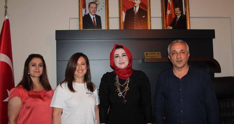 Emniyet Teşkilatı Vazife Malulü ve Şehit Aileleri Vakfı (EMŞAV) Mersin-Adana  buluşması gerçekleştirildi