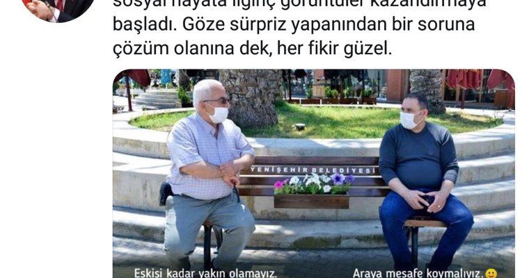 Sağlık Bakanından Yenişehir Belediyesinin uygulamasına destek