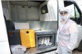 Mezitli'de İftar yemekleri evlere dağıtılıyor