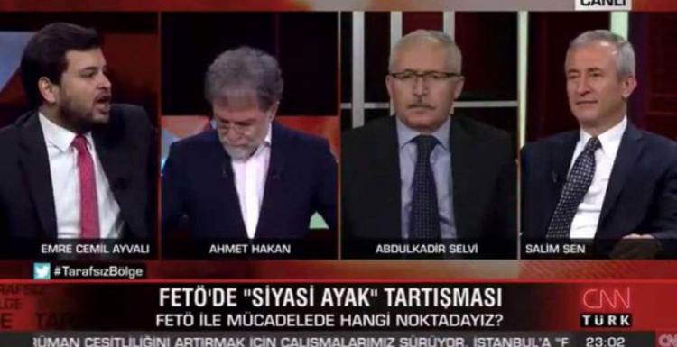 """Canlı yayında """"Kemalistleri devirmek için FETÖ ile ittifak yaptık"""" diyen AK Partili yetkili istifa etti"""