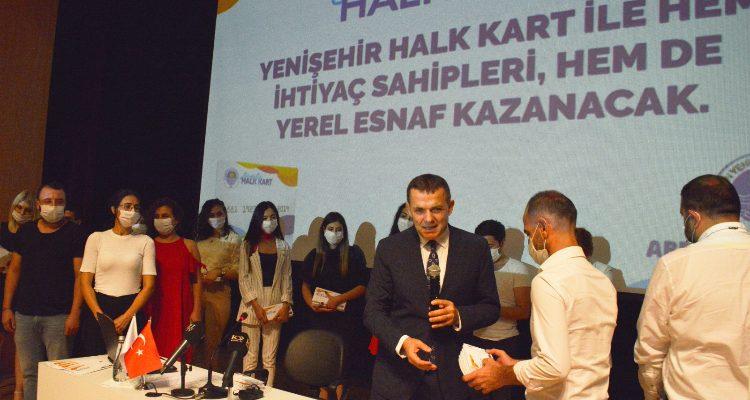 Yenişehir Halk Kart vatandaşlara ulaştı