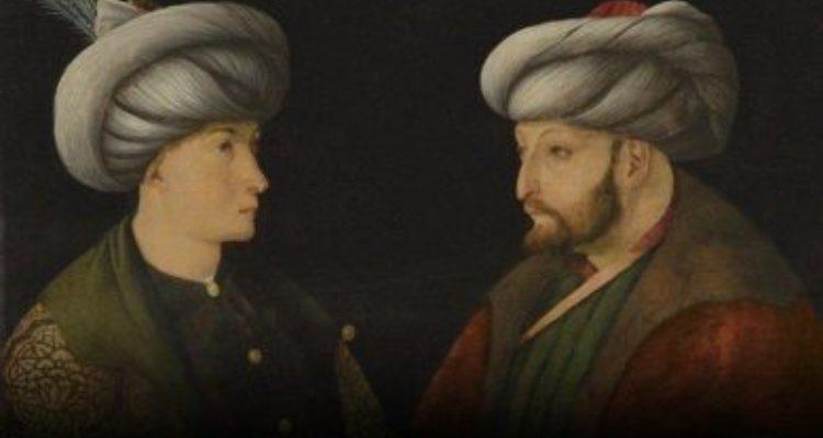 Fatih Sultan Mehmet'in portresini İBB satın aldı..Tabloyu İmamoğlunun aldığını öğrenen AA  attığı tweti sildi