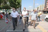 Başkan Tarhan'dan maske teşekkürü
