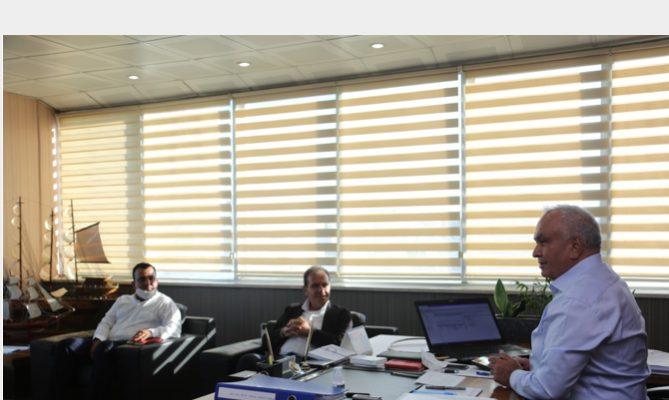 Başkan Mükerrem Tollu Mersin Büyükşehir Belediye Başkanı Vahap Seçer'i Ağırladı