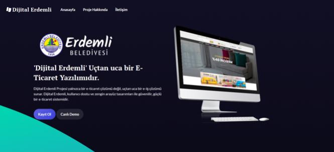"""Erdemli E Ticaret,  Dijital Dönüşüm Projesi'nde Başvurular Başladı"""""""