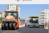 Erdemli Belediyesi'nden Sıcak Asfalt Çalışması