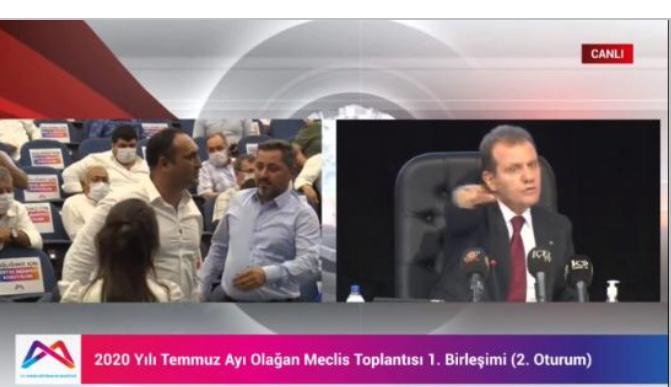 BÜYÜKŞEHİR MECLİSİ KARIŞTI!!!