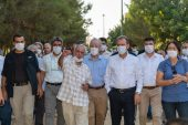 BAŞKAN SEÇER, 68'LİLER BARIŞ ORMANI'NDA BÜYÜKŞEHİR'İN ÇALIŞMALARINI İNCELEDİ