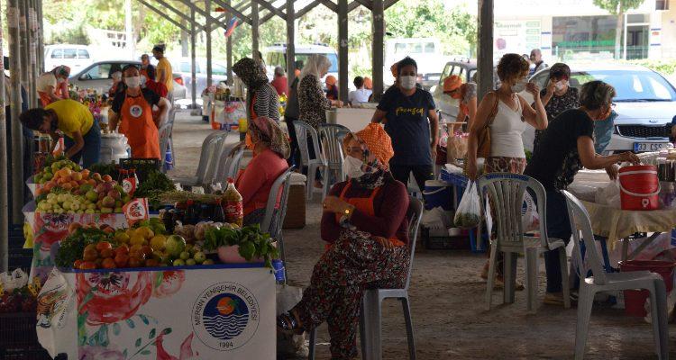 Şenlik alanı değil, kadın üretici pazarı
