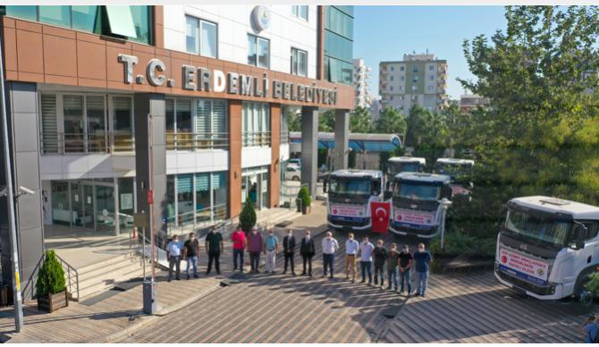 Erdemli Belediyesi Araç Filosuna Yerli Üretim Araçlar Ekliyor