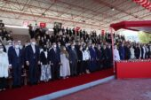 'İYİ Parti heyeti Kıbrıs'taki töreni terk etti