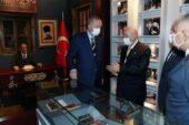 Cumhurbaşkanı Erdoğan KKTC'de Alparslan Türkeş'in doğduğu evi ziyaret etti