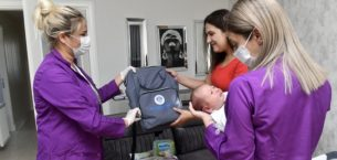 Yenişehir Belediyesinden emziren annelere destek
