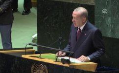 Cumhurbaşkanı Erdoğan, BM Genel Kurulu'nda konuştu: Yeni göç dalgalarını karşılamaya tahammülümüz yok