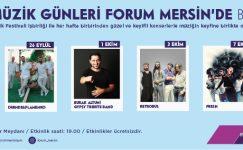 FORUM MERSİN'DE FİESTA MÜZİK GÜNLERİ BAŞLIYOR!