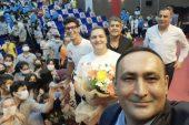TOROSLAR'DA AVRUPA HAREKETLİLİK HAFTASI, MİLLİ SPORCULARLA RENKLENDİ
