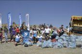 Torbada çöpün olsun! Yenişehir'de doğadan kilolarca çöp toplandı