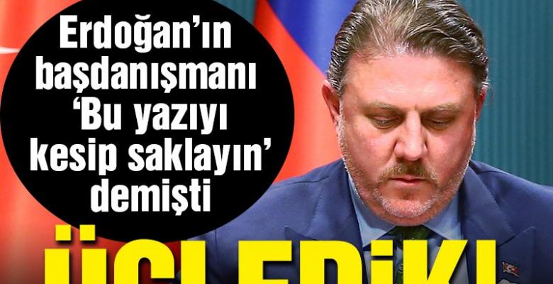 """Erdoğan'ın başdanışmanı Yiğit Bulut """"Türkiye başkanlık sistemine geçince neyiniz varsa tam olarak en az 3'e katlanacak"""" demişti Peki, üç yılın sonunda ekonomi nereden nereye geldi?"""