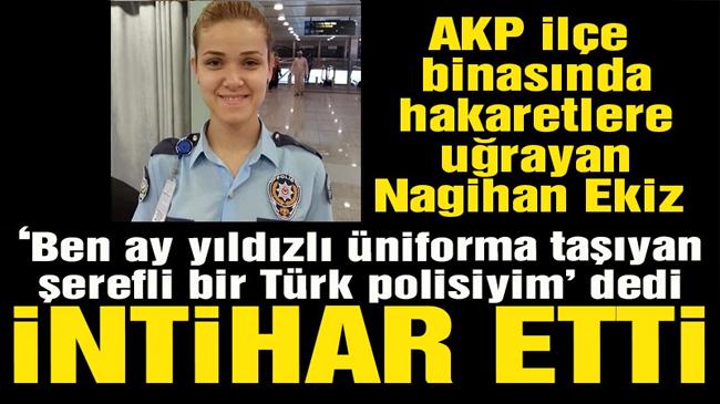 'Mersin'de AKP Mezitli ilçe başkanı yüzünden polis intihar etti' iddiası